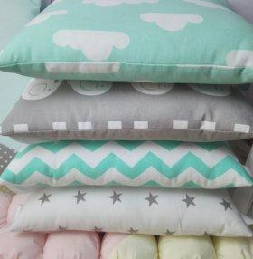 🌼Комплект в кроватку (бортики, одеяло, простыня)