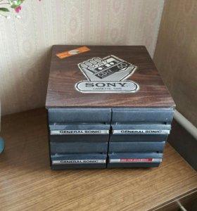 Кассетница с кассетами(+45 шт.)