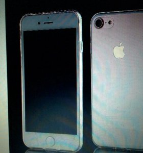 Чехол чехлы прозрачный силикон iPhone 7 7 plus