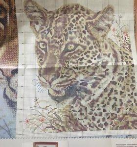 Схема для вышивания «Леопард»