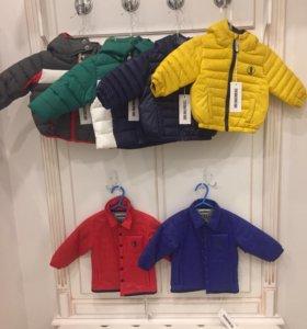 Новые куртки Bikkembergs оригинал