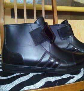 Резиновые ботинки 43 р.