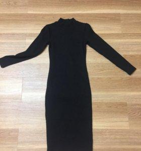 Платье лапша с длинным рукавом.