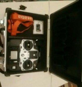 Радиоаппаратура futaba 6j + алюминиевый кейс