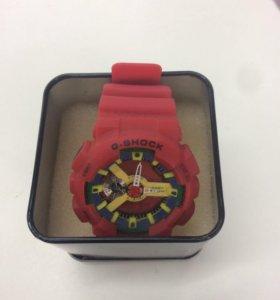 Часы g shock красные