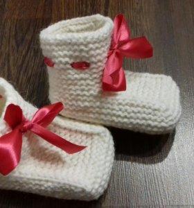 Новые носочки-пинетки