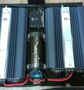 Усилители Audison VRX1-500 и VRX2, проц Alpine100