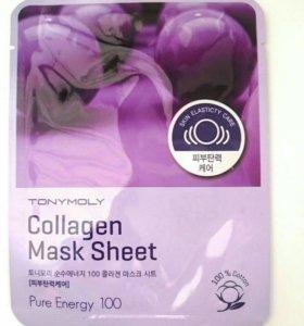 Коллагеновая маска Tony Moly collagen mask sheet