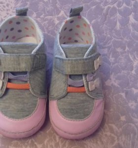 Ботиночки-пинетки на липучках