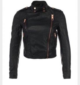 Женская кожаная куртка people