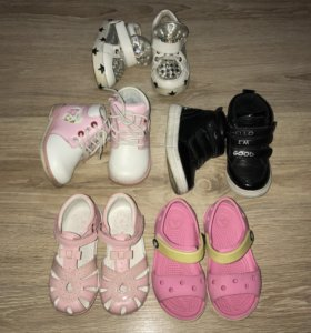 Ботинки, кеды, сандали crocs
