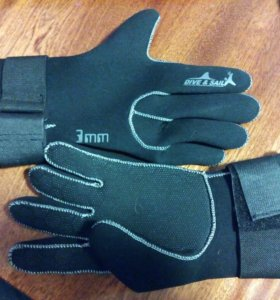 Перчатки из неопрена 3 мм
