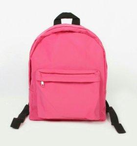 """Рюкзак """" однотонный розовый"""""""