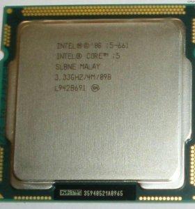 Core i5 661 lga 1156 подробности на картинках