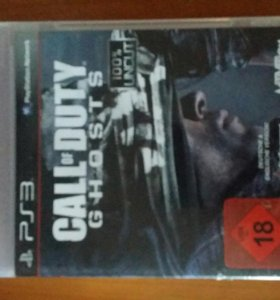 Call of Duty ghosts на PS3