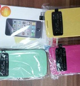 Чехлы с окошкем на Samsung Galaxy S4 mini