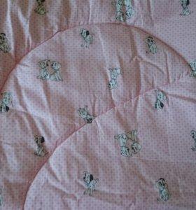 Одеяло детское, новое