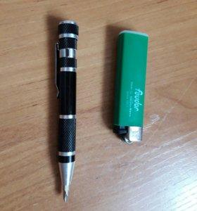 Отвертка ручка 6-ть бит.