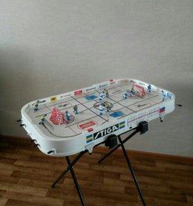 Настольный хоккей с подставкой