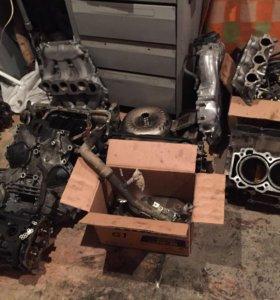 Vq35de Двигатель в разбор