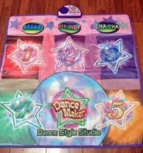 Музыкальный танцевальный коврик