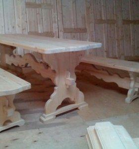 Мебель из массива хвойных пород