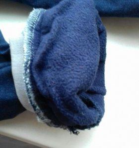 джинсы утепленые на мальчика