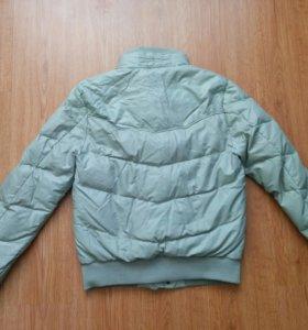 Куртка зимняя (кожзам)