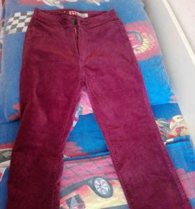 Велеветовые штаны