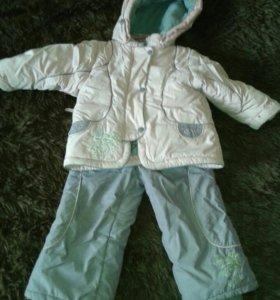 Зимний костюм для горок
