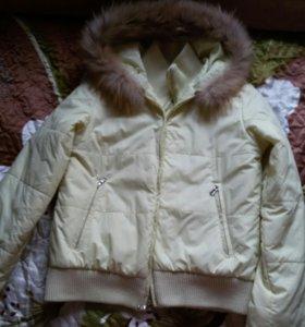 Куртка весна-осень 44 размер