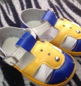 Новые сандали на мальчика