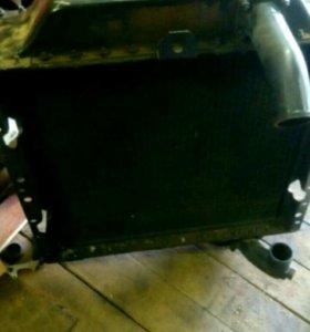 Радиатор на дт-75