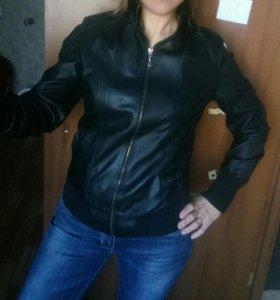Куртка кожзам на подкладе