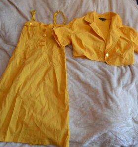 Платье с балеро( обмен или продажа)