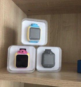 Детские часы с GPS SmartBabyWatch Q75/GW1000