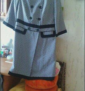 Костюм + платье без рукавов