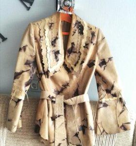 Куртка - пиджак 44-46 натуральная кожа