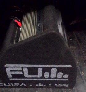 """Сабвуфер Fli fu12. 12"""", 1000 Вт."""