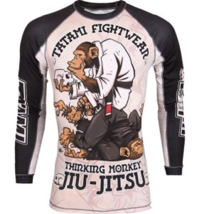 Рашгард Tatami Thinker Jiu-Jitsu Monkey