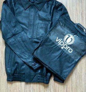 Куртка кожаная Viparo
