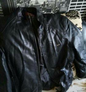 Коженая куртка. Новая