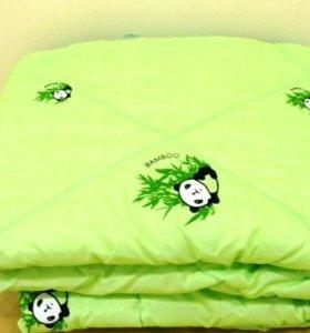 Мягкое одеяло бамбук 140х205 см