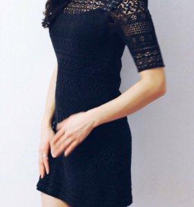 Платье кружево h&m