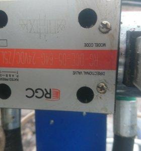 Гидро насос с подъёмника
