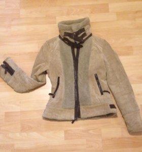 Натуральная замша куртка S