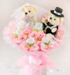 Свадебные букеты, дублёры