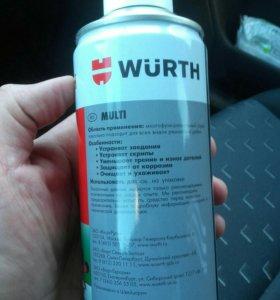 Продам ведешку WURTH 400мл.
