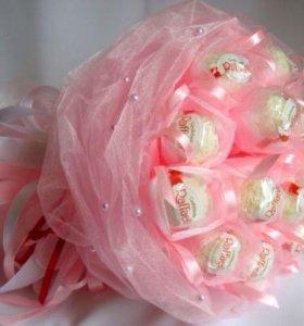 Красивые и вкусные букеты из конфет
