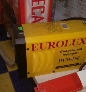 Сварочный инверторный аппарат Eurolux EWM 250